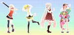MMD Pose Pack 26 by Aisuchuu