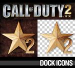 Call of Duty 2 Dock Icons by deelo