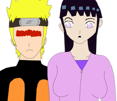 Naruto Switched With Hinata by fuzzylittlekitty