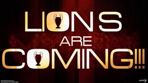 LIONS ARE COMING!!! by BOArtt