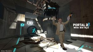 Portal 2 with Bill Nye the Science Guy by CaptainCraptastrophe