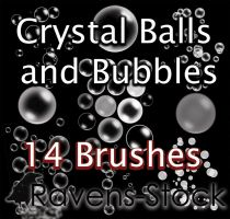 Spheres and Bubbles Brushes by Ravens-Stock