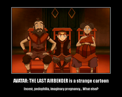 Avatar is a strange cartoon by coincidense