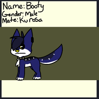 Booty ref  Feb 2013 by Meowmixed