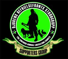Animal liberation fronts logo by angerjesse