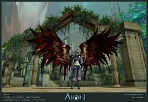 Blood Raven - AION by Neyjour