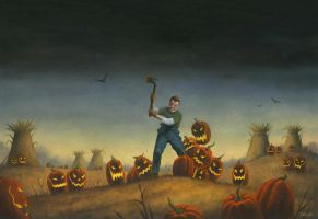 Night of the Jack-O-Lanterns by stacy11730