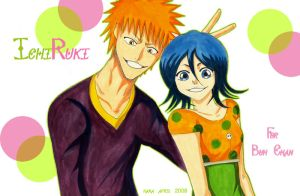 Roundly Laugh - ichiruki by hana-sun