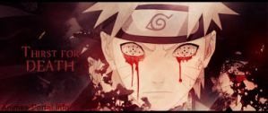 Thirst For Death - Naruto Sig by me969