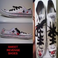 Sweet Revenge Shoes by im-a-graveyard