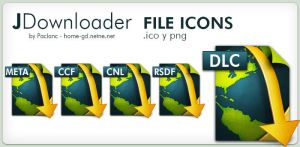 New JDownloader Icons by Paclanc
