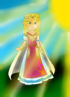 Princess Zelda (ALTTP and ALBW) by lollypop081