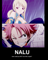 Nalu by erza-jane-scarlet