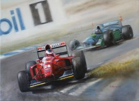 Ferrari 412T1 1994 by donpackwood