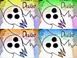 Colorful Soul Eater : Death :) by partyof1000