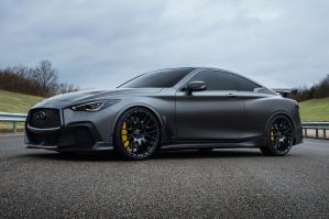 Infiniti Q60 Project Black S by NissanGTRNismo