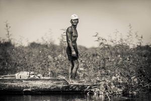 Tonle Sap Fisherman by cwaddell