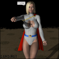 Powergirl Exploited by LordSnot