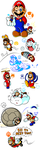 Mario's Gallery of Power-Ups (2006-2012) by JamesmanTheRegenold
