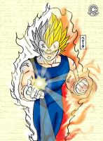 Majin Vegeta by Trunks777