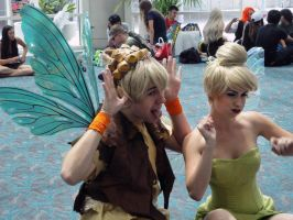 Tinkerbell Terence Funny Faces by Chingrish