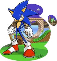 Sonic the Hedgehog by Silvazeforever329123