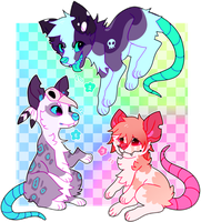 OpossumDogs for sale:OPEN :NEW PRIZE by Pand-ASS