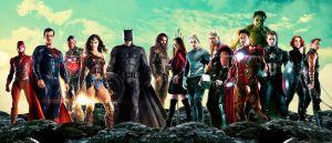 Justice League and Avengers by Timetravel6000v2