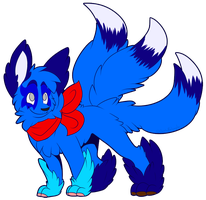Tailskemon the Catfox by ScottishPeppers