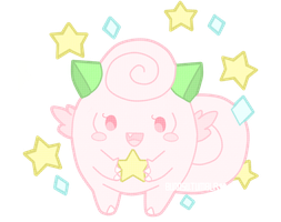 Clefairy Shiny by TinyWalrus