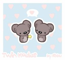 Little Twin Koalas. by PeterPan-Syndrome