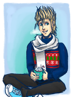 Sweater Month-Demyx by AnnaAelfara