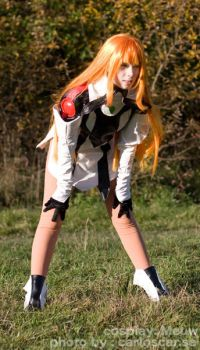 Leaning Elly from Xenogears by CosplayMeuw