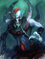Lich - Dota 2 by Cryotube