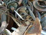 Junk Pile of Rusty Parts by FantasyStock