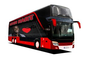 [SCHOOL] Kevin Hart Tour Bus Concept #1 by Chaocaster