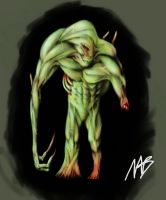 The Thing - style Creature by sketchbencky5