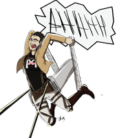 Attack on Markiplier by Invader-Zimie