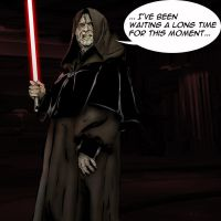 Darth Sidious by thefrenchwhore