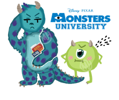 MU- Mike and Sully by Coffee-Hearts