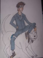 kiba for li ten hope you like it friend :D by mightyplue
