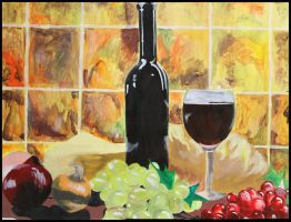 Wine and Cheese Italiano by ville2me