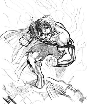 clark sketch by mikemaluk