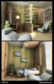 BEDROOM DESIGN... by akula13