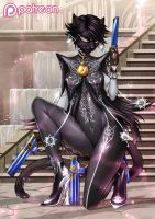 Bayonetta - Panthernetta by playfurry