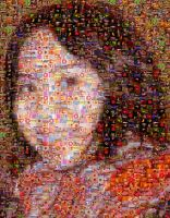 Two hour Self PortraitMosaic by VintageWarmth