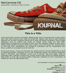 Red Converse CSS Easy Install by moonfreak