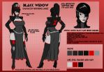 Space Pirate Queen-reference sheet by crovirus