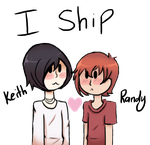 I ship Keith x Randy by Bratcole