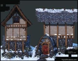 ArenaNet Art test Front side by Tejayfc
